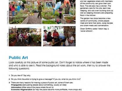 Public Art Education Pack updated