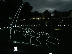 Basingwerk Abbey Festival of Light